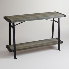 One of my favorite discoveries at WorldMarket.com: Venice Console Table