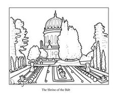 Baha I Unity Coloring Pages