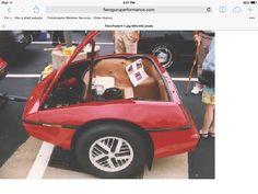 Hitch and go cargo My Dream Car, Dream Cars, Pontiac Fiero, Corvette, Bike, Vehicles, Bicycle Kick, Corvettes, Trial Bike