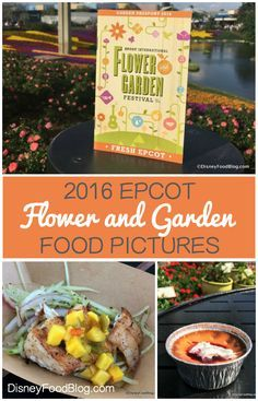 Check out all of the food pictures from the 2016 Epcot Flower and Garden Festival! #FreshEpcot