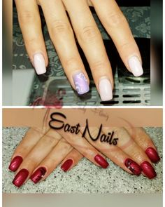 East - Nails by Cindy Nailart, Beauty, Nail Studio, Red, Beauty Illustration
