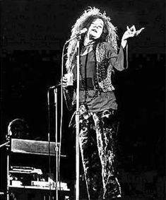 I miss her overwhelming , soul-searing voice. You didn't have to be a fan, but you sure as hell respected that emotion. See ya, Janis. Too soon.