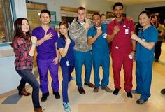 The cast of #NightShift