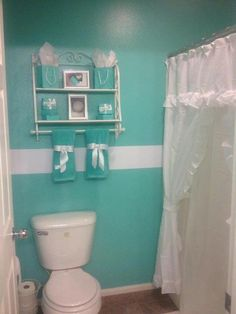 22 Best Tiffany Blue Bathroom Images