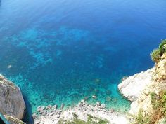 View from the lighthouse, Zakinthos #snapthesummer #greece #clifftop #view #greekislands #lagoon  Enter here: http://social.saga.co.uk/competition/547/snap-the-summer