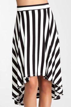 High waisted Highlow Ruffle Skirt  Price: £52.00