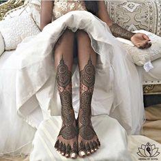 Henna by Divya. Bridal mehndi