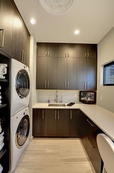 Fifty Stylish Laundry Room Ideas | Laundry room design, Dry sink and ...