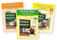 TEACHING MUSIC Series Set - TEACHING MUSIC… Series  by Valeaira Luppens & Greg Foreman.  Stimulating lessons, audio CDs, reproducible activities, and visuals stir the imagination, increase critical, higher-level thinking skills, and foster deeper understanding of the relationships of music to culture, history, science, math, and the arts.  Set Includes: TEACHING MUSIC ACROSS HISTORY -  TEACHING MUSIC ACROSS THE CURRICULUM -  TEACHING MUSIC THROUGH ART