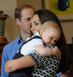 The best pic with baby prince george smiling.