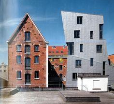 Transformación de una antigua fábrica cervecera en viviendas para artistas, Bruselas (Bélgica) por L'Escaut-Gigogne.