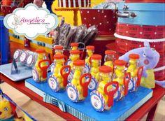 Aqui seu sonho vira realidade!: Circo do Ben com seus amigos Peppa e George