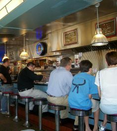 The Deluxe Town Diner in Watertown MA