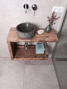 Bathroom Sink Cabinets, Old Cabinets, Bathroom Furniture, Bathroom Storage, Diy Bathroom, Bathroom Ideas, Teak Furniture, Bathroom Renovations, Vanity Bathroom