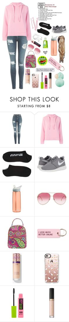 """""""Meeting The Boys"""" by emmalovesbooks2 ❤ liked on Polyvore featuring Topshop, Closed, Vans, BOBBY, NIKE, CamelBak, Chapstick, Fendi, Vera Bradley and Various Projects"""