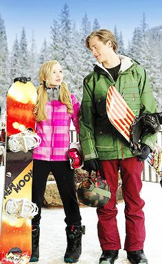 "Disney's ""Cloud 9"" with, Dove Cameron, and Luke Benward."