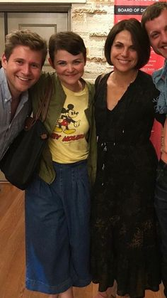 Lana seeing Ginny in her play.