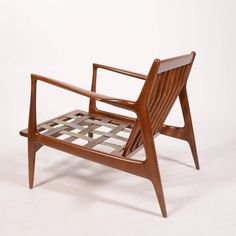 Danish Lounge Chair by Ib Kofod-Larsen for Selig, Restored 3
