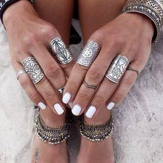 #Anéis em estilo #boho.