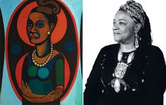 """Art Preview: """"American People, Black Light: Faith Ringgold's Paintings of the 1960s"""" 