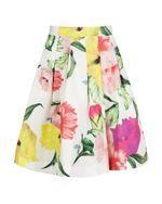 Buy Ted Baker Muirin Floral Print Skirt, Cream from our Women's Skirts range at John Lewis & Partners. Floral Print Skirt, Floral Prints, Short Outfits, Cute Outfits, Ted Baker Skirts, Light Pink Skirt, Cream Skirt, Evening Skirts, Modest Fashion