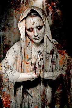 """Kalma is Finnish Goddess of Death and Decay. She lives in Tuonela, the Finnish Underworld, and is accompanied by Surma. Her name means """"The Stench of Corpses"""". Wicca, Cemetery Art, Portraits, Gothic Art, Gods And Goddesses, Model Photographers, Archetypes, Macabre, Occult"""