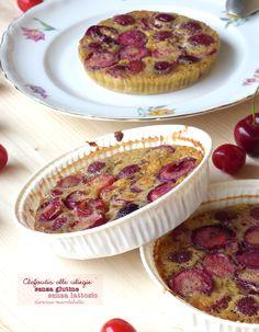 clafoutis alle ciliegie senza lattosio