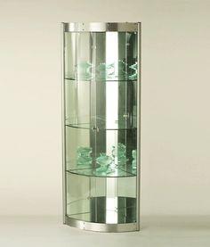 Dining Room Modern Curios Corner Curio Silver Cabinet Chila