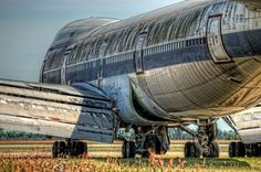 abandoned-boeing-747-100-Laurinburg-Maxton-Airport to think i flew one of these when they were new on my first trip to Europe