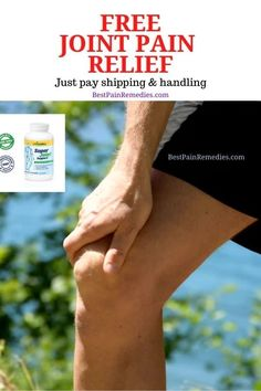 Free Joint Pain Supplement - Just Pay Shipping/Handling