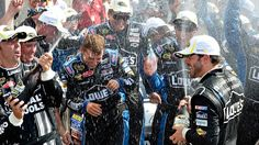 ARTICLE (July 30, 2012): Johnson joins elite company at Indy. Read more: http://www.hendrickmotorsports.com/news/article/2012/07/30/Johnson-joins-elite-company-at-Indy#.