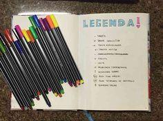 Incrível! Organize seu dia com o bullet journal - a forma mais fofa de planejar sua vida - # #organização #organizador