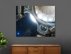 Sublimation art print on a .045 thick aluminum sheet. Includes wall hanging hardware. Manually numbered, signed, and shipped with a certificate of authenticity.