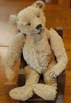 Antique Original Steiff Teddy Bear 1904 05 with Button   eBay