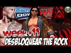 Desbloquear The Rock SvR 2011 Week11