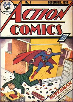 The Golden Age: THE GOLDEN AGE OF COMIC BOOKS ~ 1937-1945