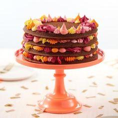 Easy Layers! Round Layer Cake Pans Set, 4-Piece | Wilton Cake Decorating Piping, Cake Decorating Supplies, Cake Decorating Techniques, Decorating Ideas, Reeces Cake, Citrus Cake, Novelty Birthday Cakes, Cake Birthday, Icing Colors