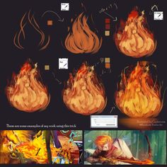 "Morning everyone Finally sunday tutorial again ~  Jreng  Jreng  jreeeng  Today i want to share how to paint "" fire"" . This is what i learn , i hope could sha..."