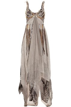 Haute Hippie Dreamcatcher silk-chiffon gown.  This satisfies every longing of my inner hippie-chick.
