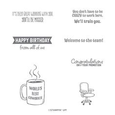 Welcome to the Team Welcome To The Team, Stampin Up Cards, Congratulations, Happy Birthday, Stamps, Stamp Sets, Card Ideas, Catalog, Chair