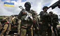 Ukrainian troops have begun 'anti-terrorist operation', Kiev says