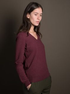 WOLFEN Germany Seed Stitch Sweater. 100% Merino.