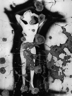 Female Figure Graffiti Fotografiskt tryck
