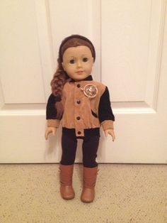 Katniss Everdeen Doll Hunting Outfit