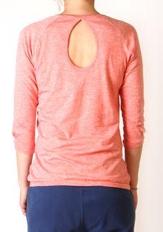 RESPOND blouse, Sorbet melange
