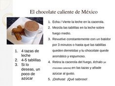 Students can follow along with this presentation on hot chocolate in Argentina as well as try/make some hot chocolate in the classroom. With an accompanying discussion on the cultural practices with hot beverages (include mate) in Arg., students will learn about perspectives in the target culture and thereby promote the Cultures Standard.