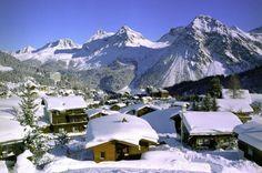 One of my favorite ski areas. Arosa, Switzerland