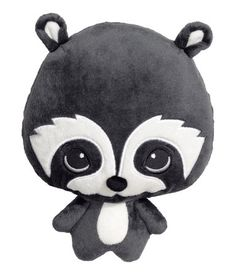 Check this out! Soft toy in velour with embroidered details. Polyester fill. Height 9 1/2 in. - Visit hm.com to see more.