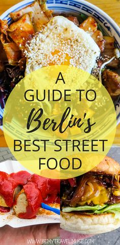 Looking for cheap and delicious street food in Berlin, Germany? Here's an expert's guide to finding the best street food in the city, from gyros, falafel, dumplings, burgers, sausages, to so much more. Use this guide for your next foodie trip to Berlin Germany! #BerlinTravelTips #BerlinFoodTips