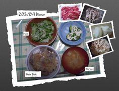 For Dinner on 11/Oct/2012